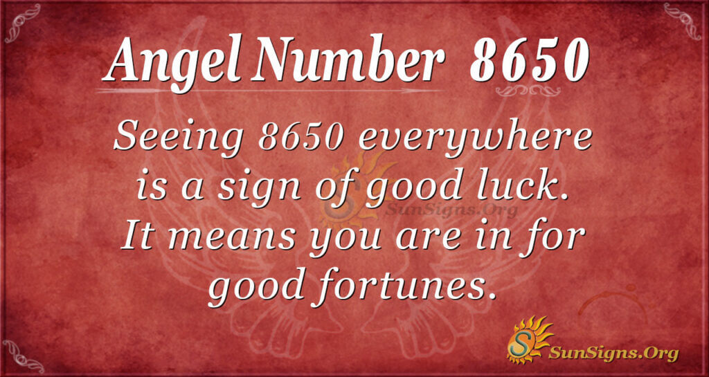 8650 angel number