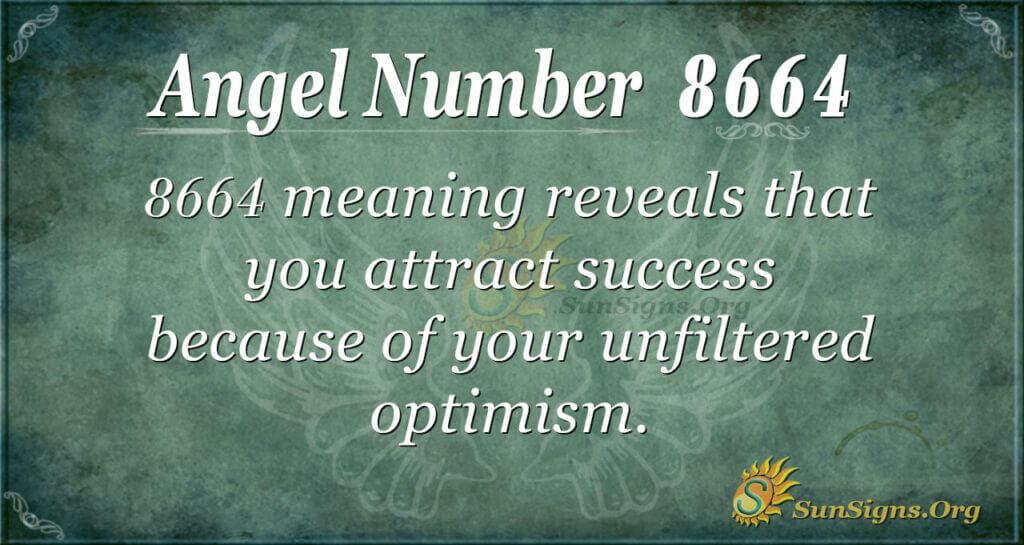 Angel Number 8664