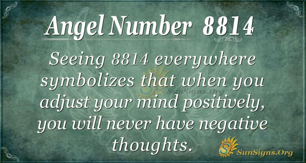 8814 angel number
