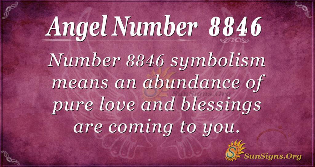 Angel Number 8846