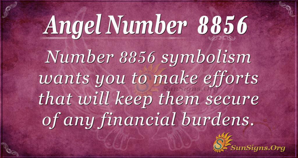 Angel Number 8856