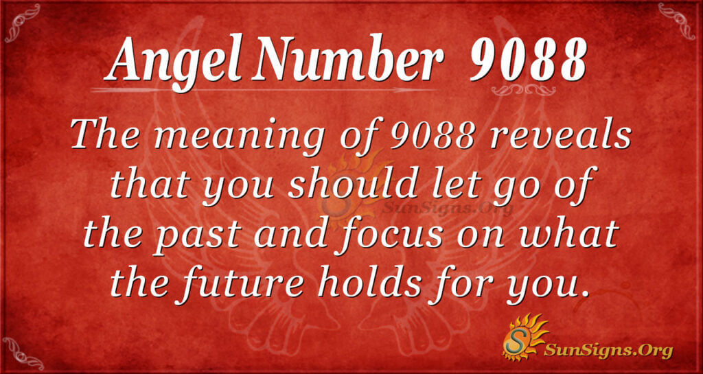 Angel Number 9088