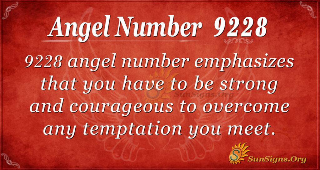 9228 angel number