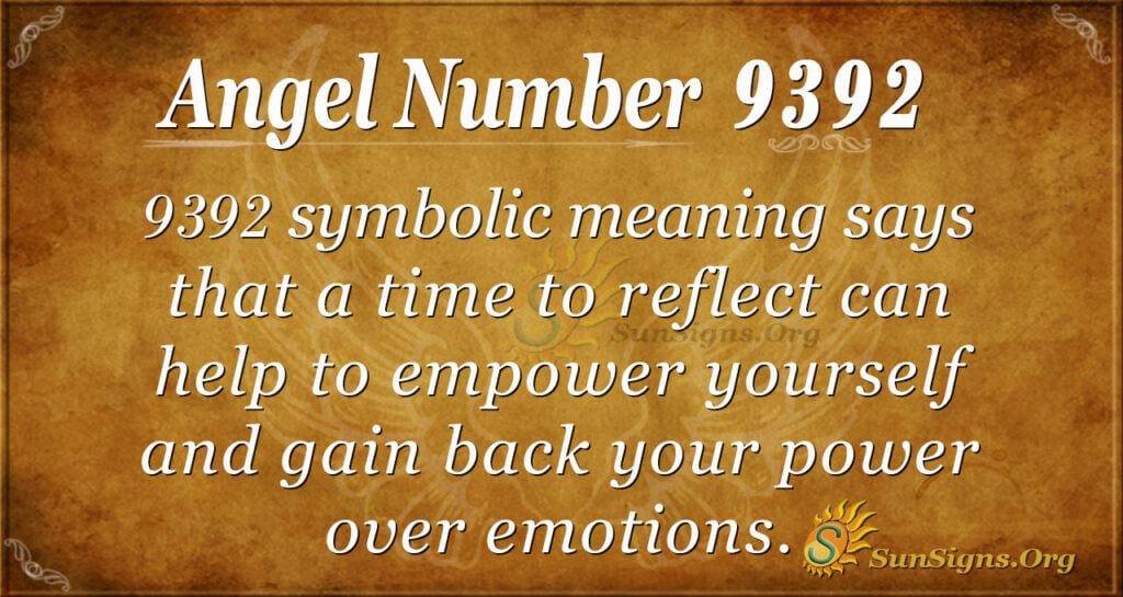 9392 angel number