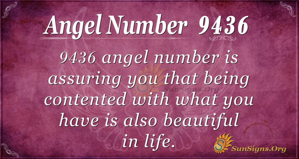 9436 angel number