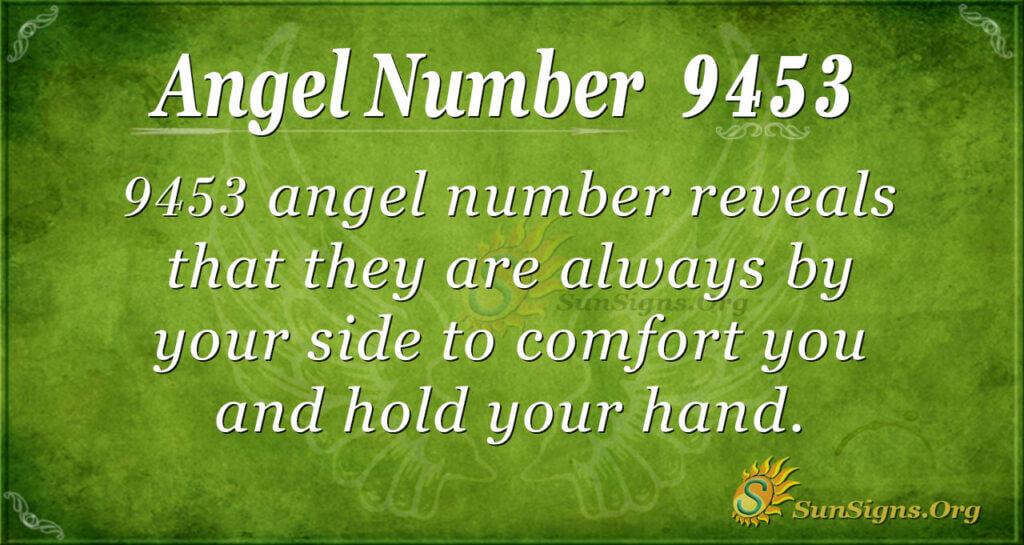 9453 angel number