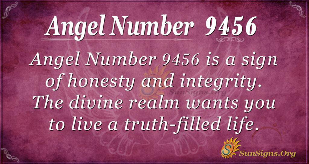9456 angel number