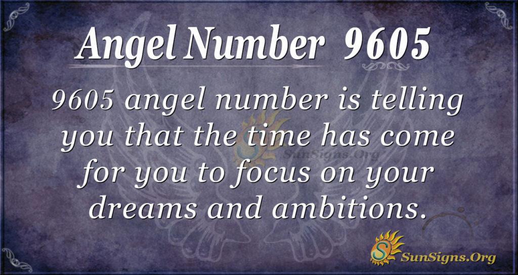 9605 angel number