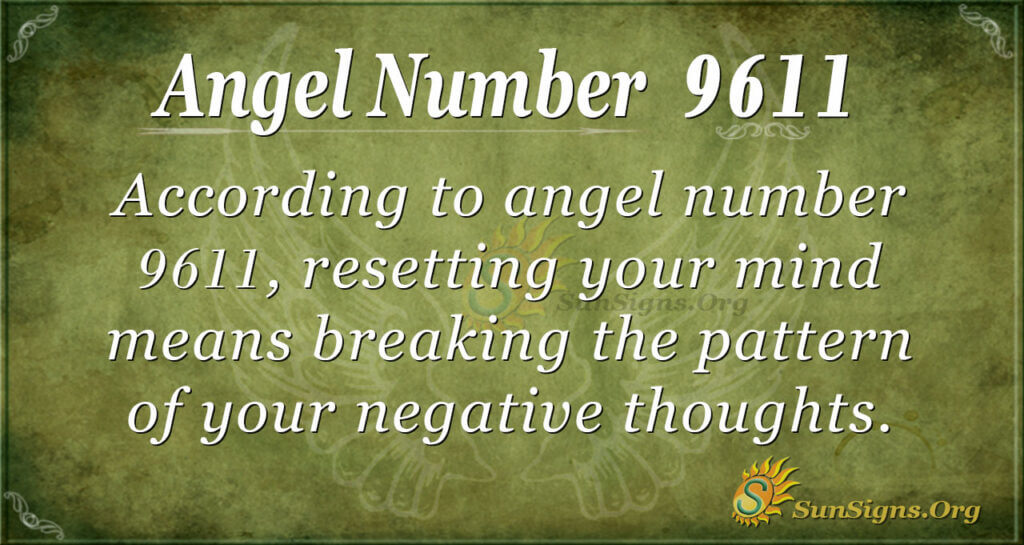 9611 angel number