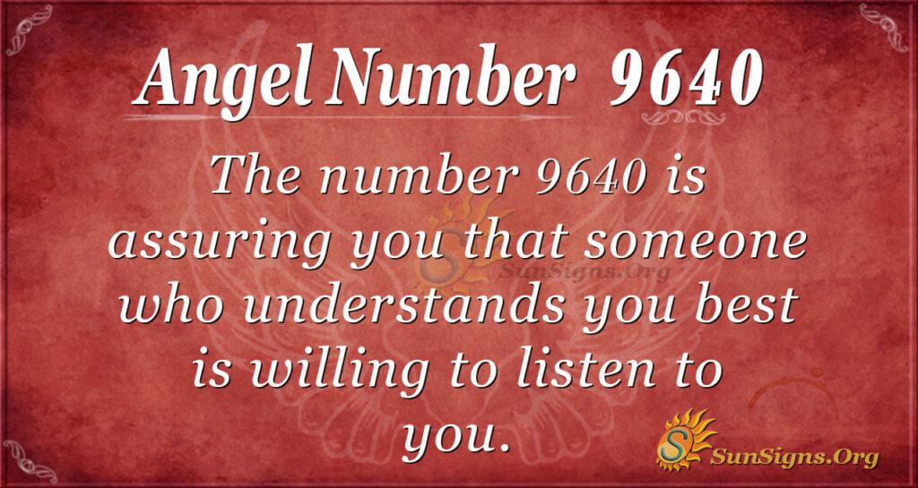 9640 angel number