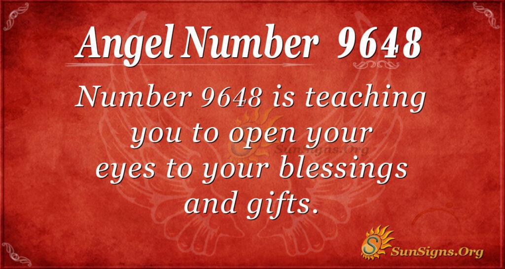 Angel Number 9648