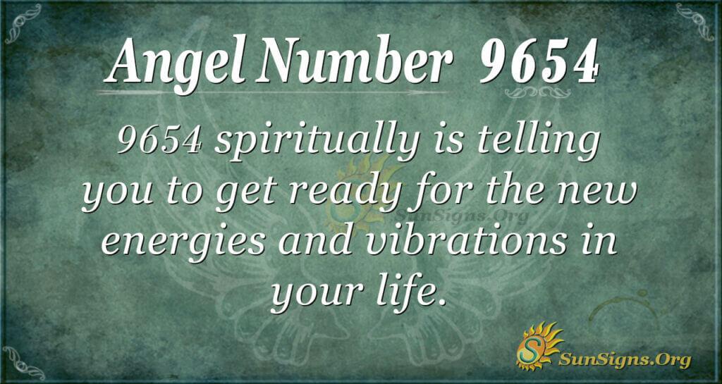 Angel Number 9654