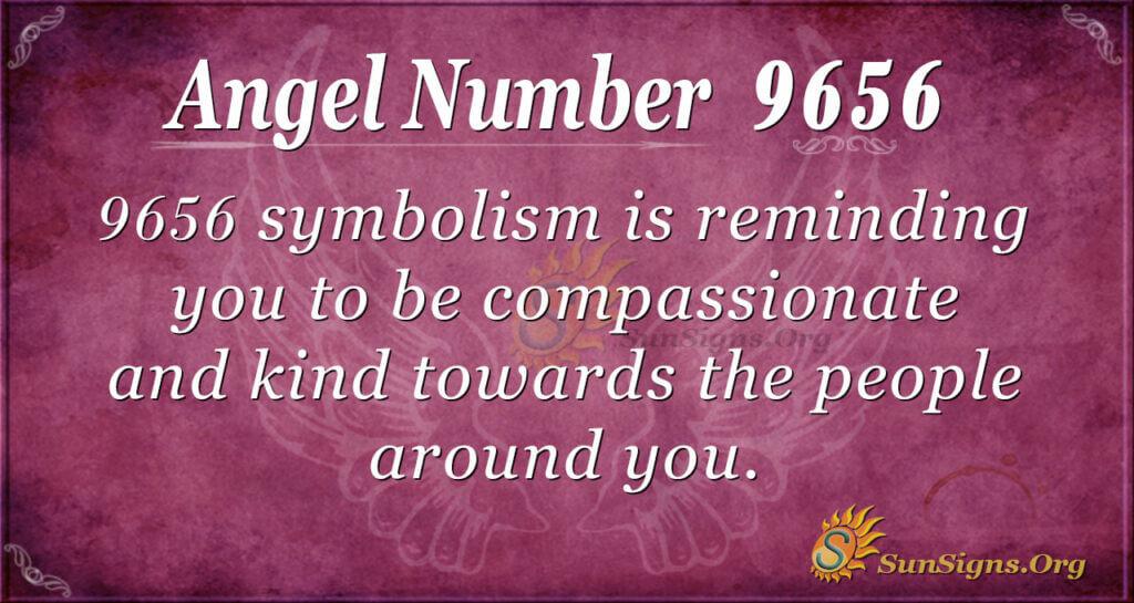 Angel Number 9656