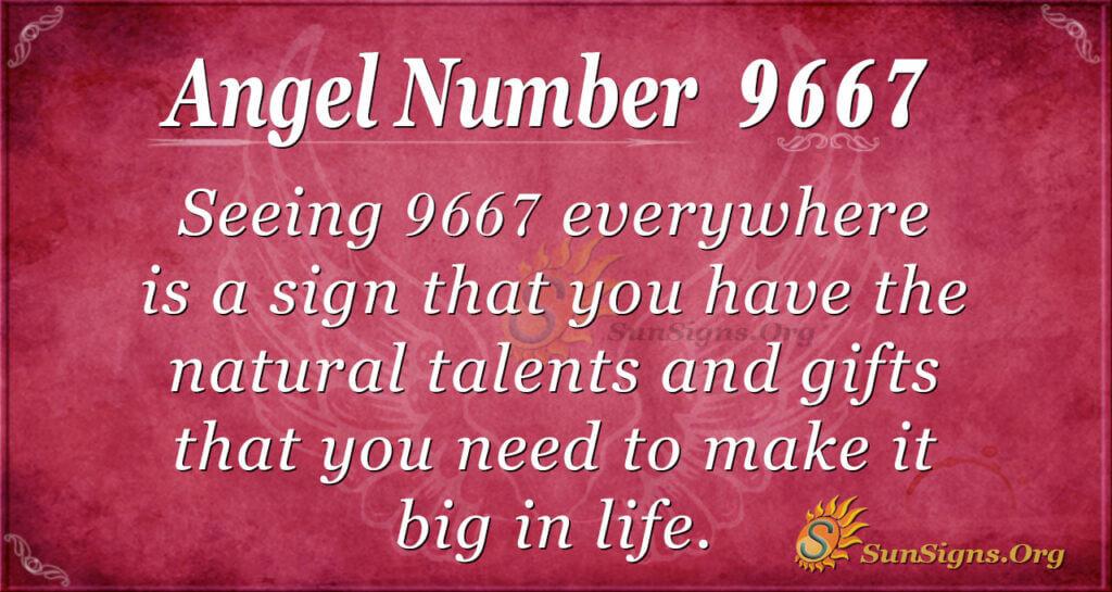 9667 angel number