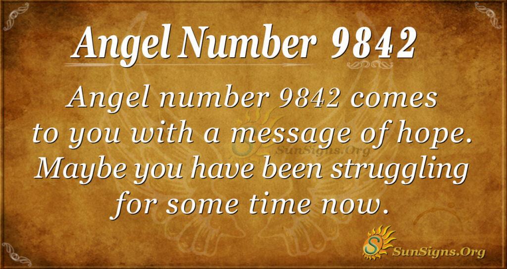 9842 angel number