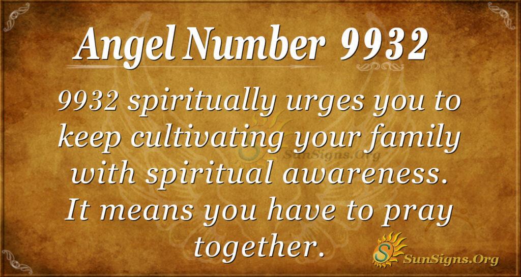 9932 angel number