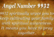 9932 angel number
