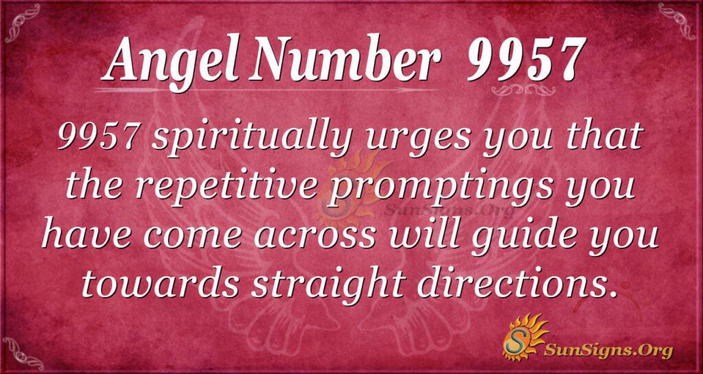 9957 angel number