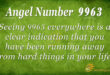 9963 angel number
