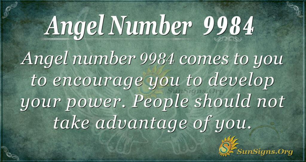 9984 angel number
