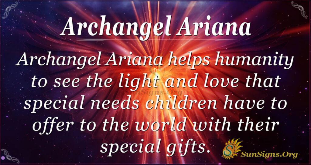 archangel ariana