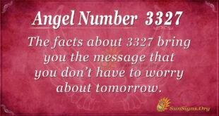 3327 angel number