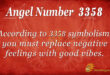3358 angel number