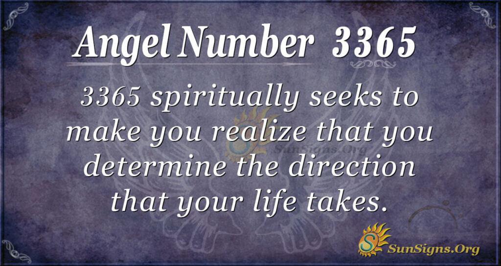3365 angel number