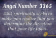 3365 angel number
