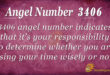 3406 angel number