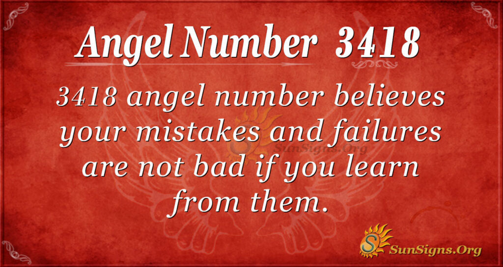 3418 angel number