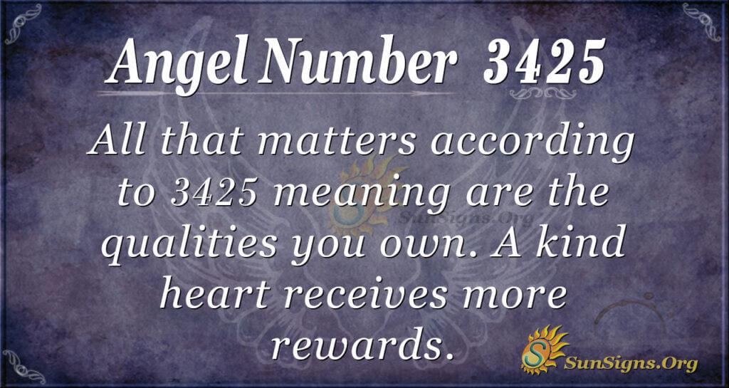 3425 angel number