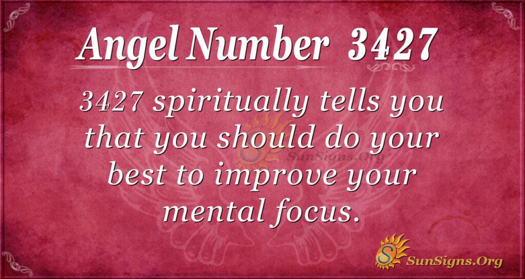 3427 angel number