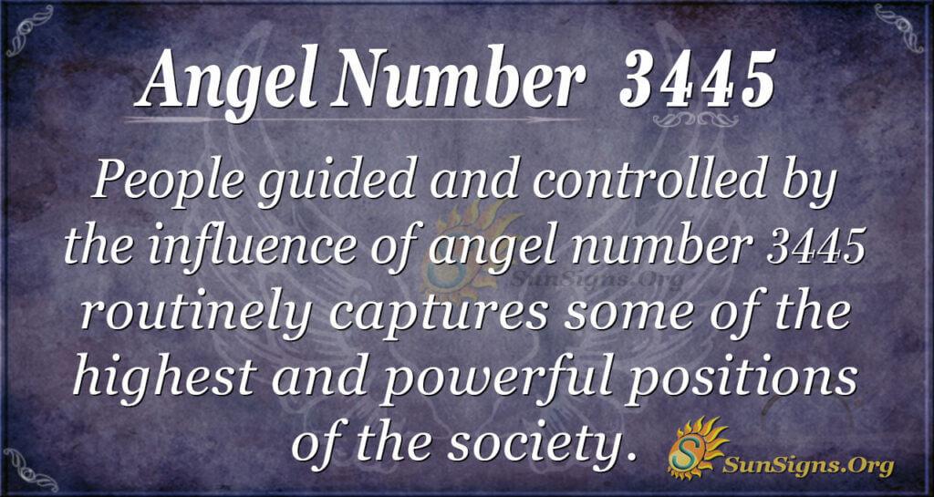 3445 angel number