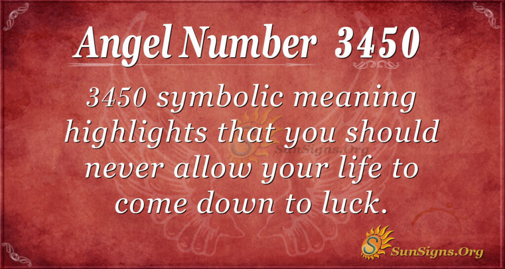 3450 angel number