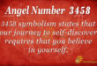 3458 angel number