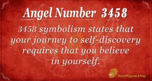 3458 angel number