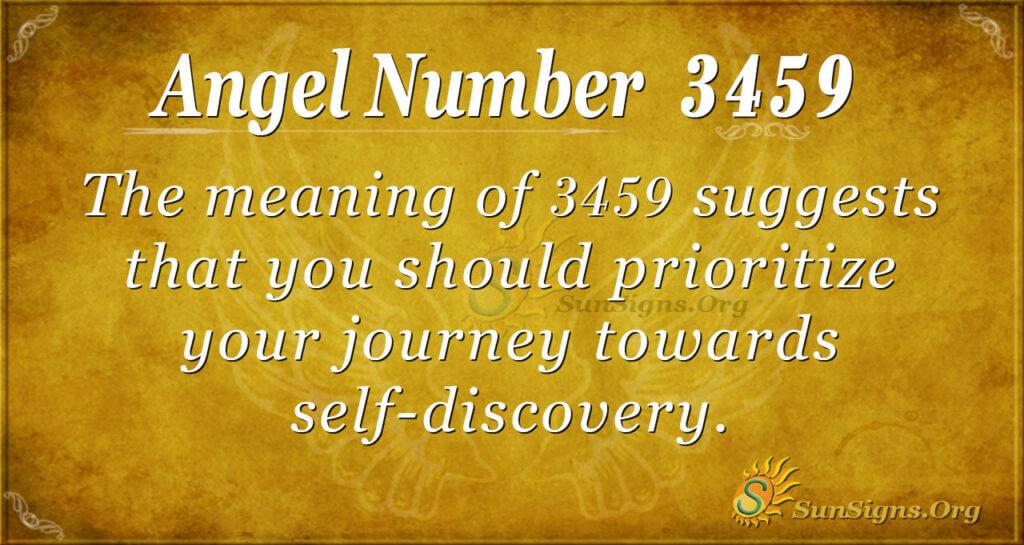 3459 angel number