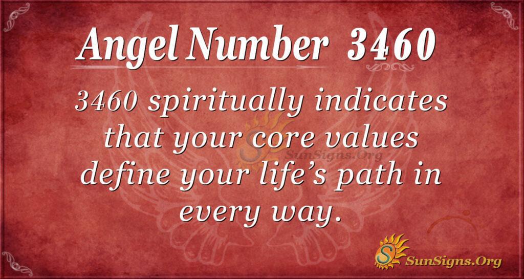 3460 angel number