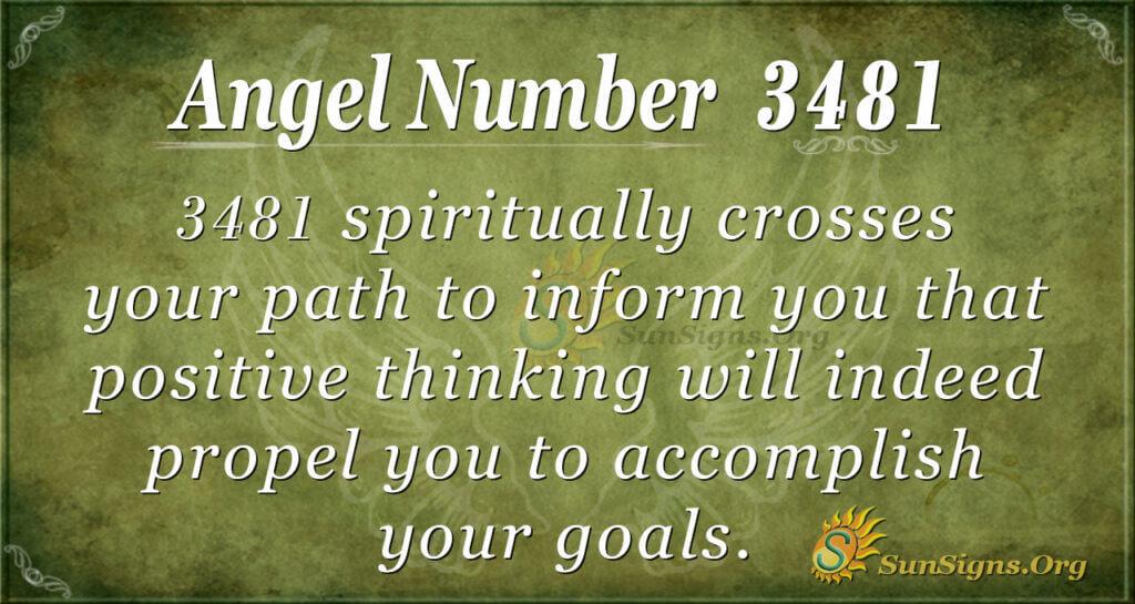 3481 angel number