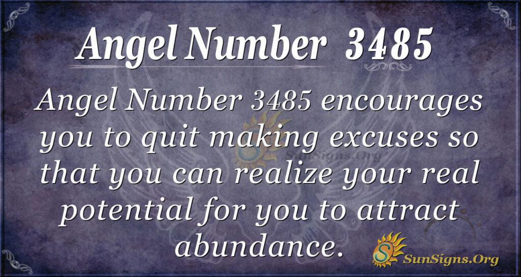 3485 angel number