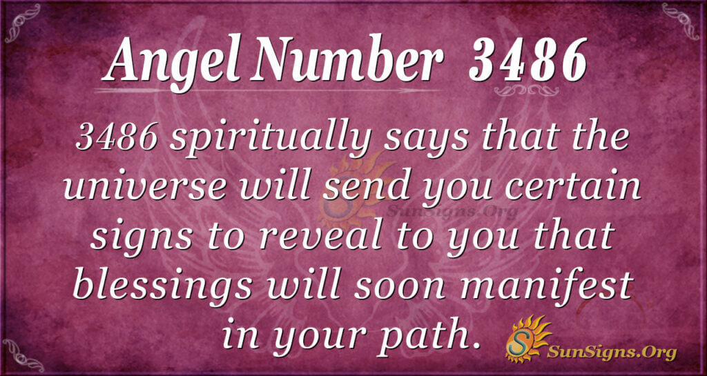 3486 angel number