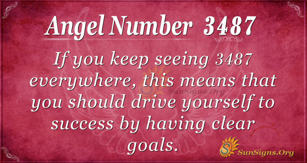 3487 angel number