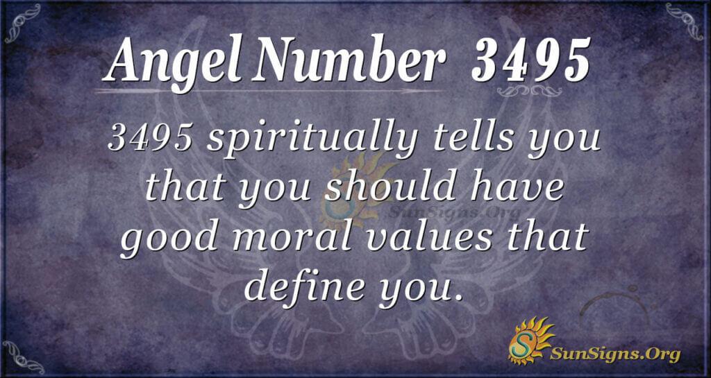 3495 angel number