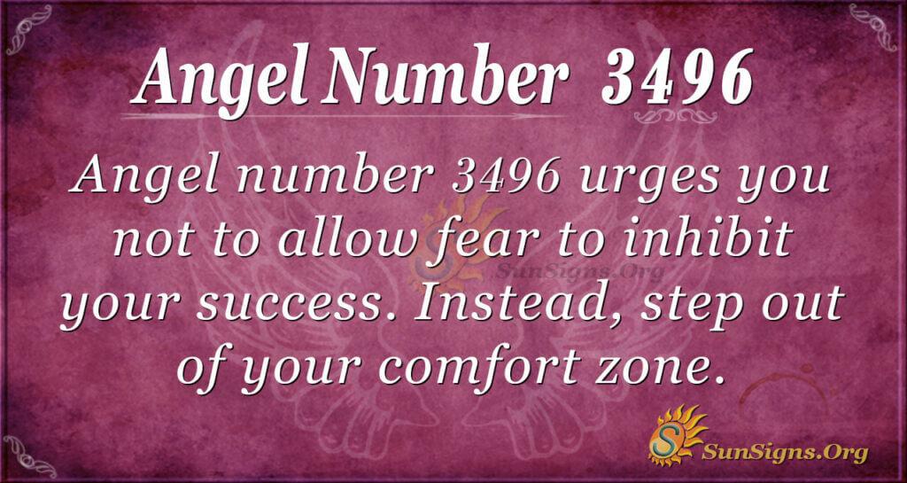 3496 angel number