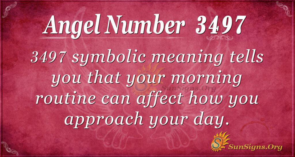 3497 angel number