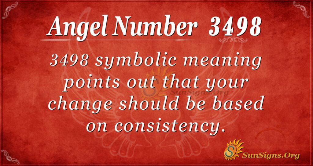 3498 angel number