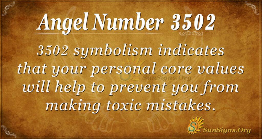 3502 angel number