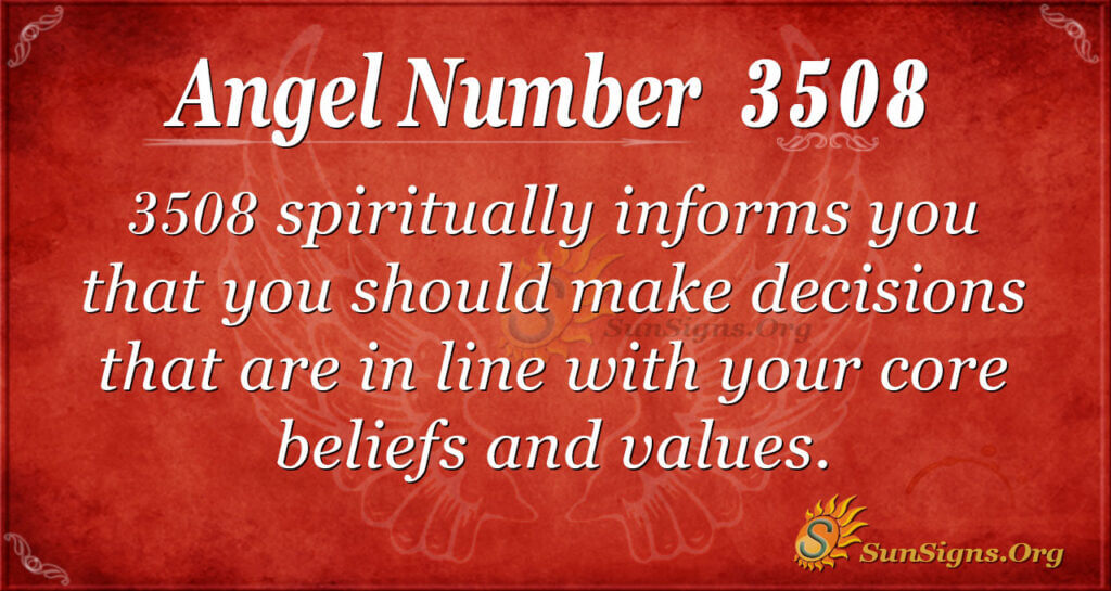 3508 angel number