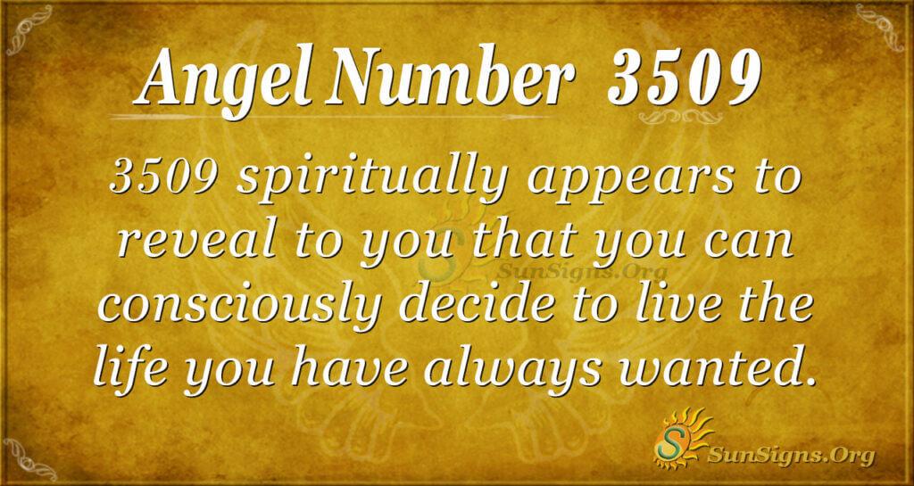 3509 angel number